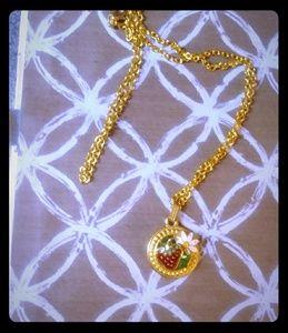 Strawberry Vintage Necklace
